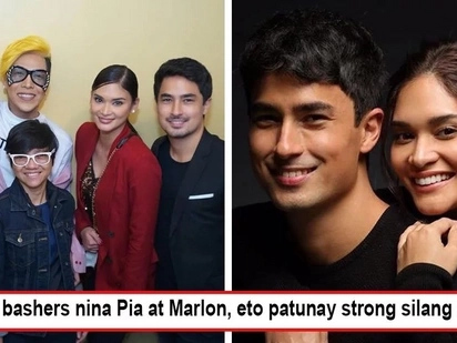 Supportive jowa talaga siya! Marlon Stockinger joins Pia Wurtzbach on 'Revenger Squad' opening, proving healthy relationship with Miss U 2015