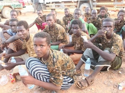 32 children rescued from Al-Shabaab by Somali special forces