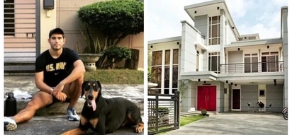 Pinagpaguran at pinagkagastusan! Gerald Anderson's luxurious house in Quezon City; new glimpses of his home go viral