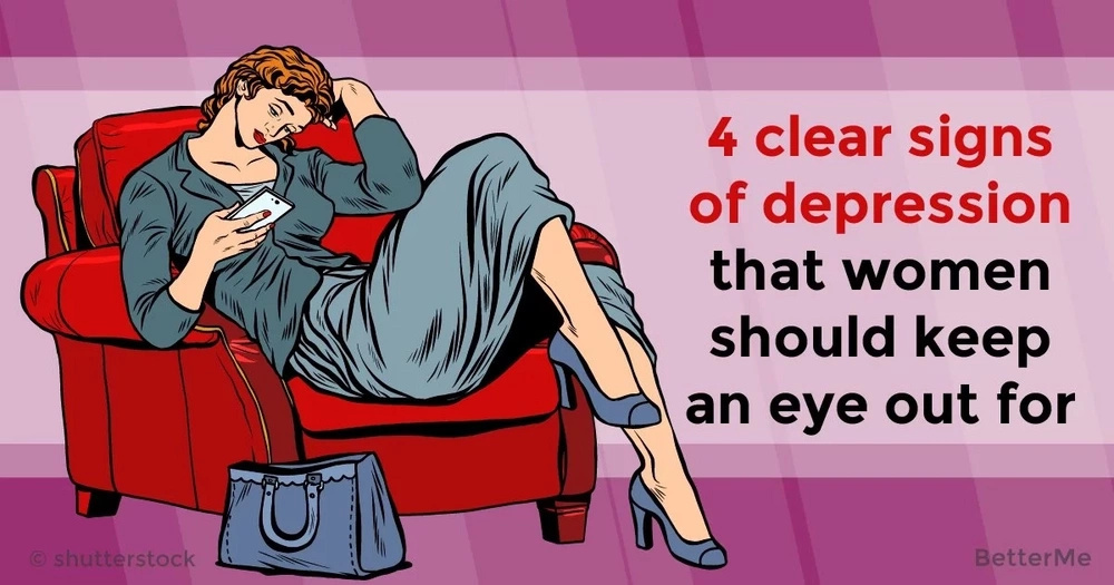 4 clear signs of depression that women need to keep an eye out for