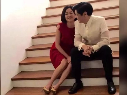 Kay tamis! Sweet couple Bongbong Marcos and wife Liza go on a romantic date