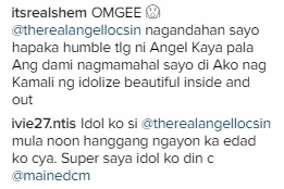 Maine's new look is 'pretty', according to Angel