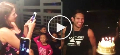 Watch Bea Alonzo and friends throw surprise birthday party for Gerald Anderson at his house!