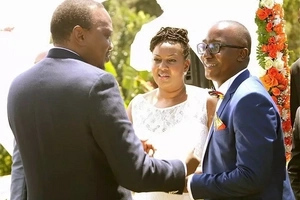 President Uhuru encourages youth to marry OUTSIDE their communities (photos)