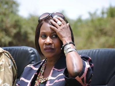 This Jubilee Cabinet Secretary's mother is in trouble