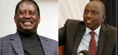 William Ruto azua VITA vikali dhidi ya Raila Odinga katika ngome ya NASA