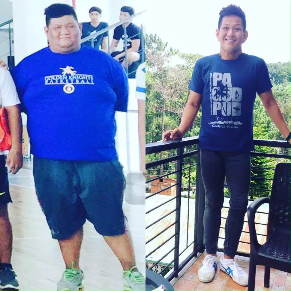 Man's physical transformation inspires netizens