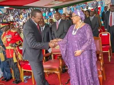 Mke wa Rais Uhuru atunukiwa TUZO muhimu sana ulimwenguni (picha)