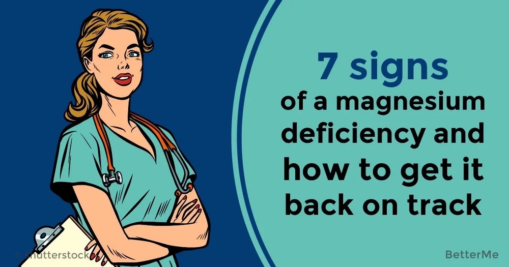 7 signs of a magnesium deficiency and how to get it back on track
