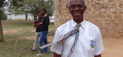 60-year-old kilifi man joins class three