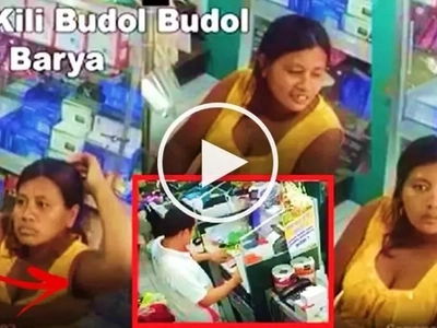 This pregnant Pinay in Albay fooled a drug store cashier by accusing him of short-changing her! Watch the 'Ipit Kili-Kili' modus in action!