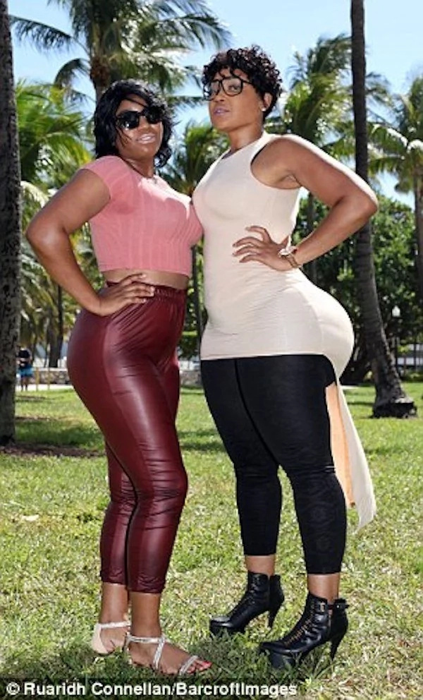This woman, 32, makes a living with her SUPER-SIZED 150cm behind (see photos)