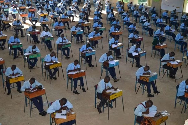 KCSE results for the whole school