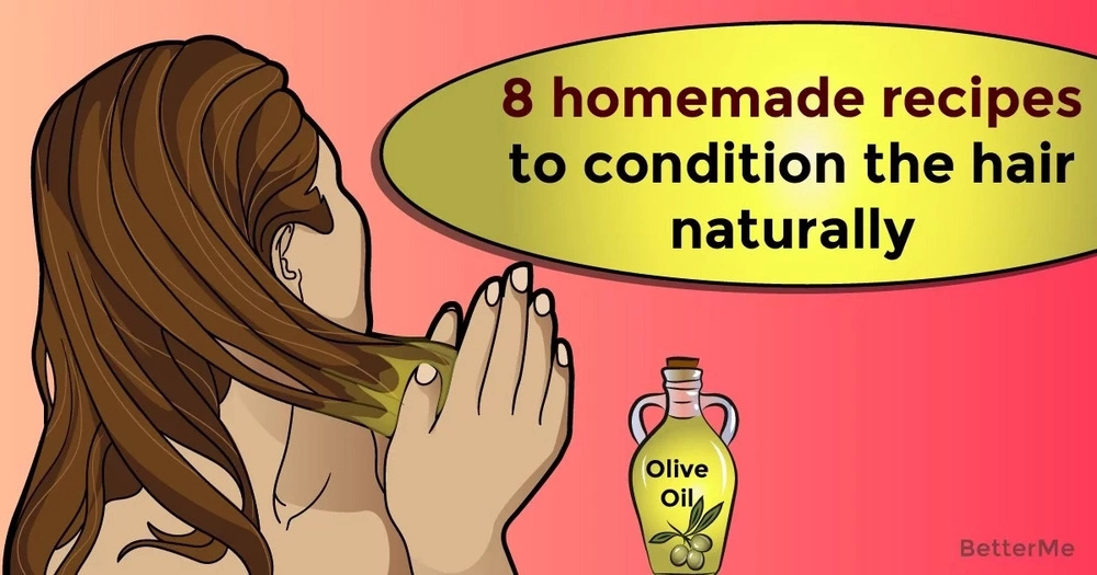 8 homemade recipes to condition the hair naturally