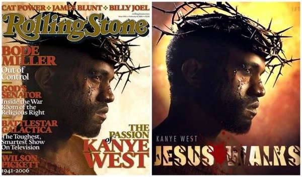 Yeezus! Hollywood artist portrays Kanye West as JESUS in statue (photos)