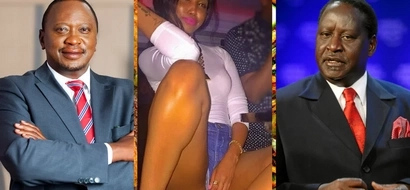 Prominent Kenyans who are Uhuru supporters VS prominent Kenyans who are Raila supporters