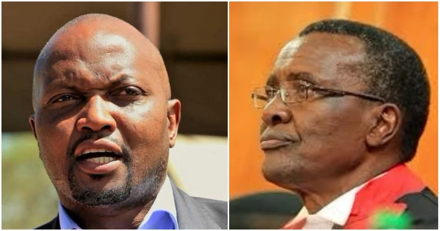 Moses Kuria threatens to dump coffins of accident victims at Maraga's house after court suspended refresher training for drivers.