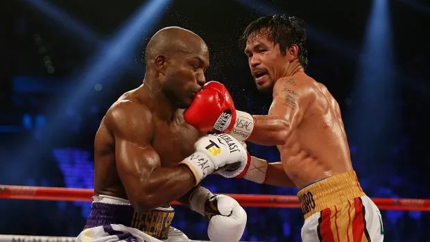 Pacquiao and Bradley bromance post-fight