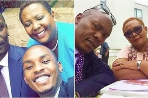 Governor Kabogo steps out with his beautiful wife, shows Kenyans his romantic side