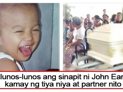 Nakakadurog ng puso ang sinapit niya! Two-year-old son of an OFW beaten to death by abusive relatives