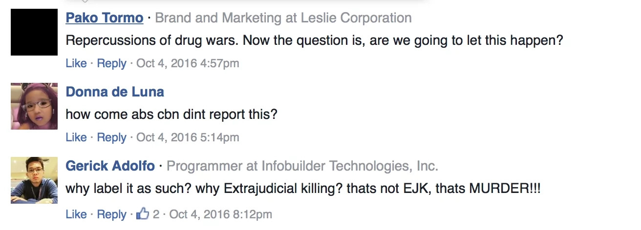 This Person's Story about Extrajudicial Killings Will Make You Fear for Your life