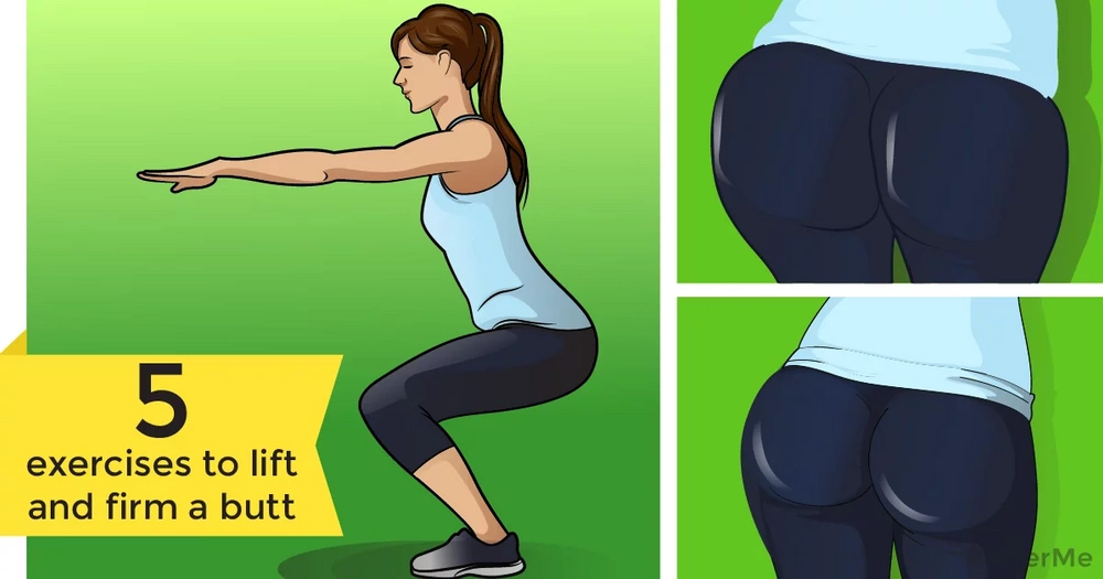 5 exercises to lift and firm a butt