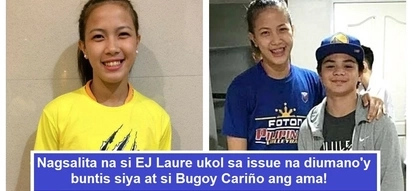 Buntis nga ba siya? EJ Laure finally speaks up on rumors that she is pregnant with Bugoy Cariño's child