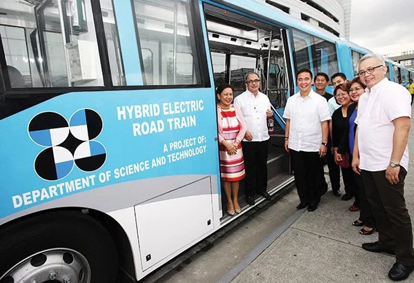 WATCH: DOST launched Pinoy-made hybrid trains