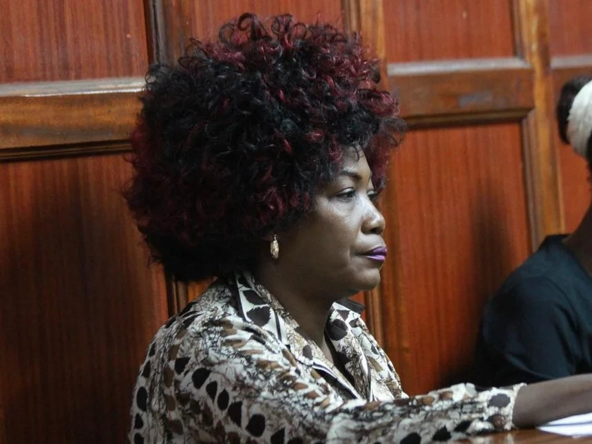 Wife to a former politician jailed for stealing millions