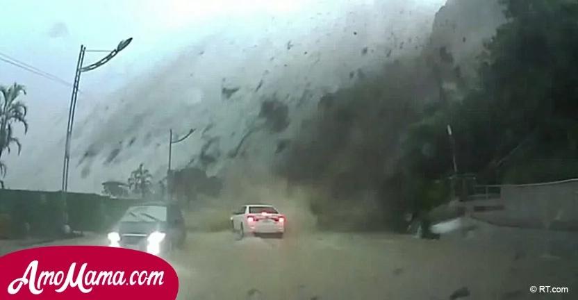 Él estaba manejando por una carretera lluviosa, cuando de repente fue tragado por la oscuridad...