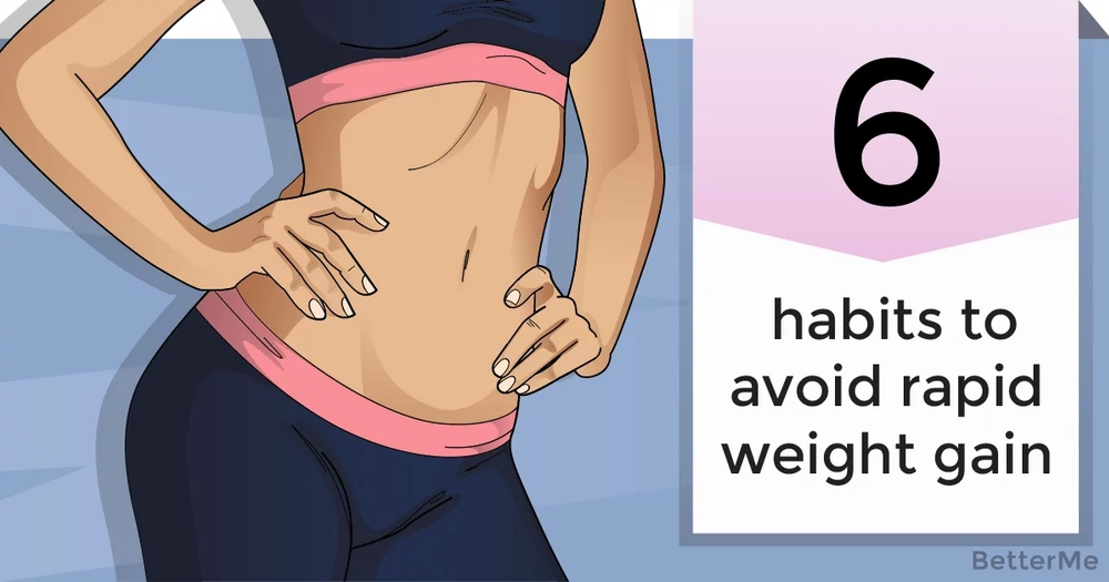 6 habits that can help you avoid rapid weight gain during the holidays