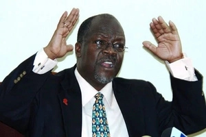 President Magufuli's on-air photos that have fooled all of us!!