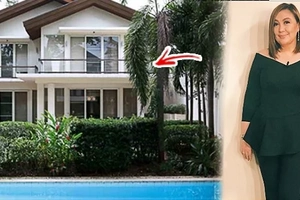 Sosyal talaga si Mega! Sharon Cuneta's elegant home features an elevator & a two-storey guest house, proves their family's affluence & posh lifestyle