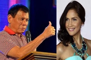 Hayaan lang daw: Calm Duterte defends Agot Isidro's right to rant against him