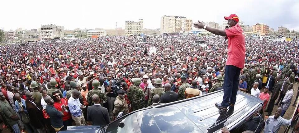 Naibu rais William Ruto amjibu vikali Raila Odinga kuhusiana na masharti yake dhidi ya IEBC
