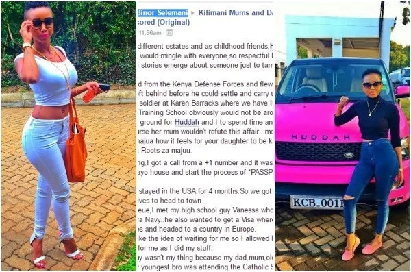 Ex-lover to Kenya's most popular socialite EXPOSES her for what she was before the fame
