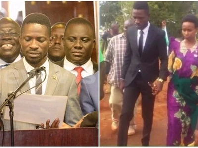 Congratulations! Popular Ugandan musician Bobi Wine sworn in as an MP