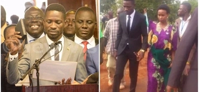 Congratulations! Popular Ugandan musician Bobi Wine sworn in as an MP