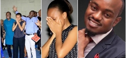 Just Lovely! Gospel singer proposes in church as congregation watches