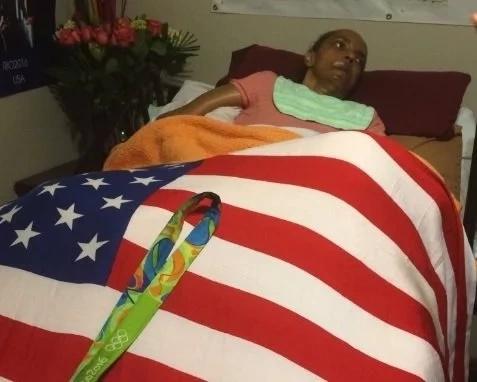 Atleta olímpico le prometió la medalla de oro a su madre con Alzheimer. ¡Así le cumplió!