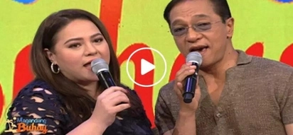 Ted Failon amazes us with his singing voice as he belts out 'Endless Love' with Karla Estrada