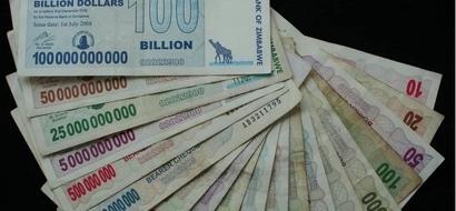 In Zimbabwe A US Dollar Is Now Worth 35 Quadrillion!