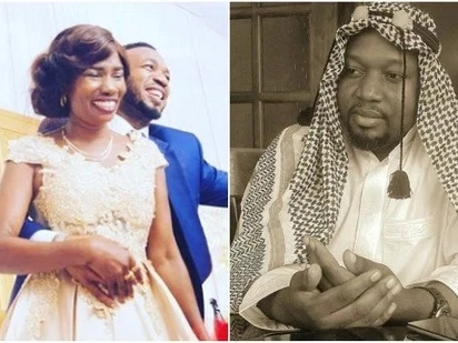 Mzee ni wewe; Diamond's younger step father slams haters as he defends relationship with singer's aging mother