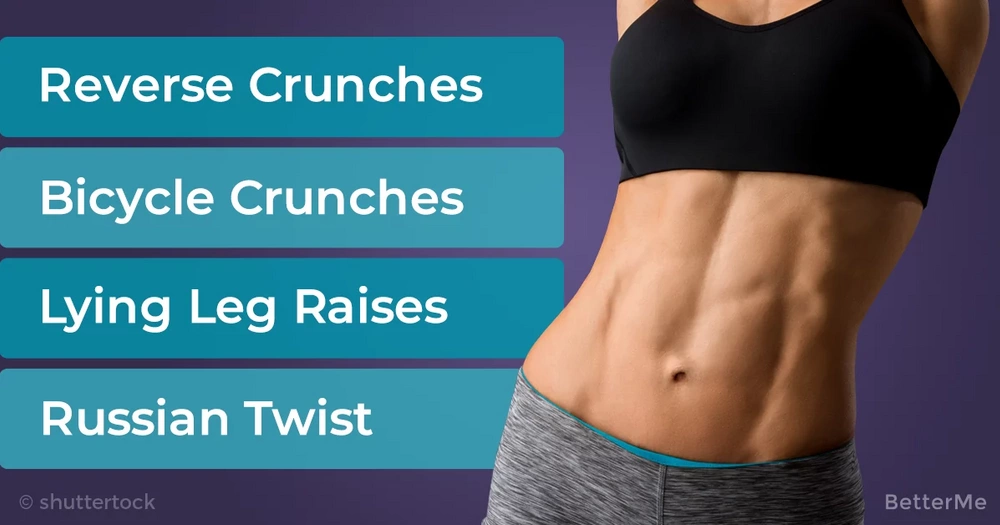14-day progressive at-home abs workout for women