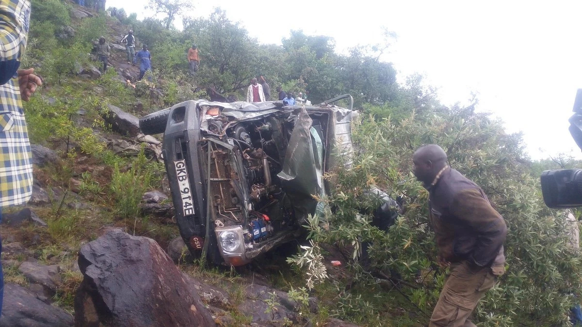 GSU officers killed in Baringo road accident