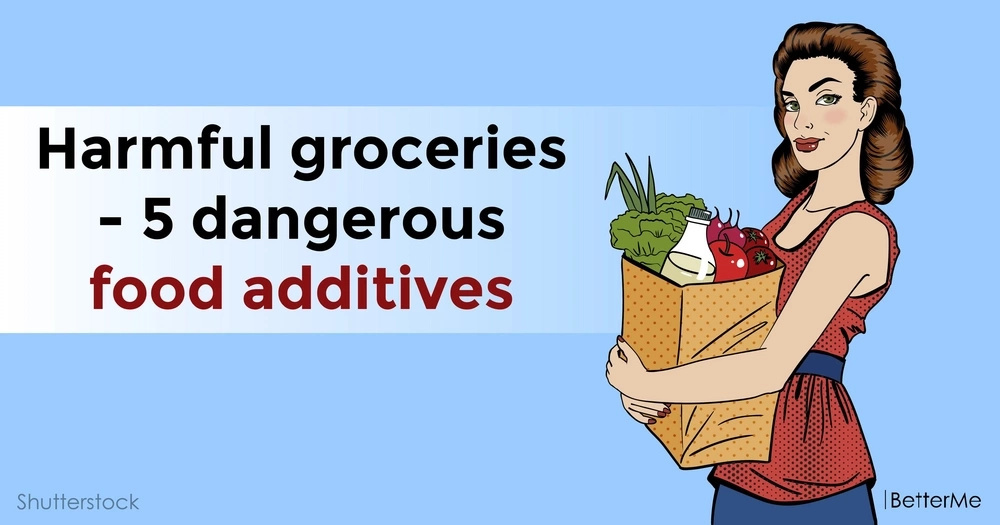 Harmful groceries - 5 dangerous food additives