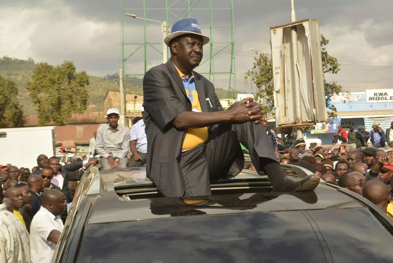 Raila flies out of the country leaving supporters and critics in great suspense