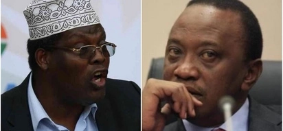 Miguna is one-man opposition Uhuru fears - Boniface Mwangi
