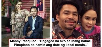 Ibang babae ang pakakasalan dati! Manny Pacquiao makes unexpected revelation about his love life
