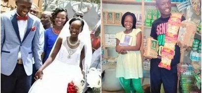 God is Good: Double BLESSING for the KSh 100 wedding couple (photos)
